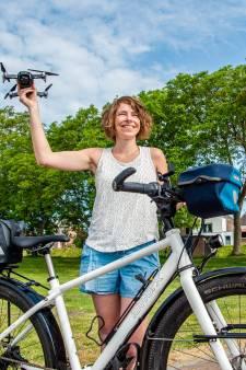 Fietsvlogger Jessica (37) doorkruiste Ierland, Italië en Florida, maar deze plek in het Groene Hart is favoriet