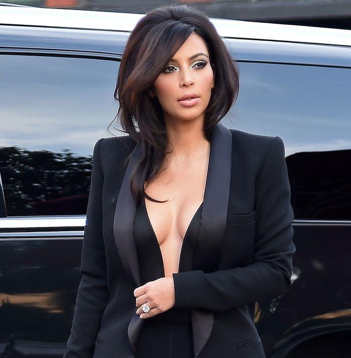 Kim Kardashian op een archieffoto.