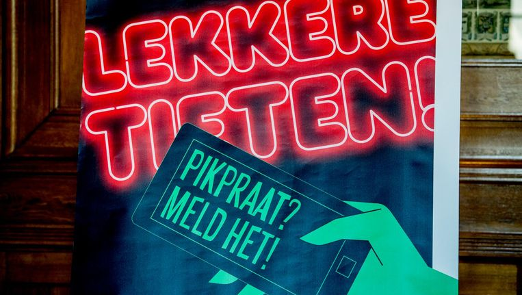 De Rotterdamse campagne tegen straatintimidatie Beeld ANP