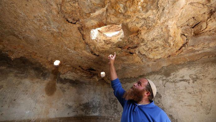 Archeoloog en leider van het project Benjamin Storchan