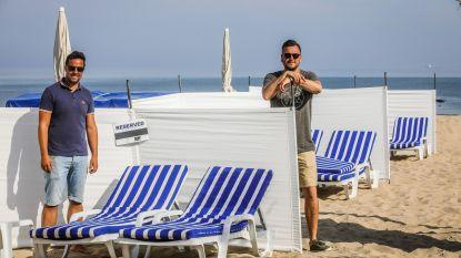 """Uitbaters maken strandbars 'coronaproof', maar wanneer mogen ze klanten ontvangen?  """"Maandelijks 17.000 euro kosten, maar een inkomen hebben we niet"""""""