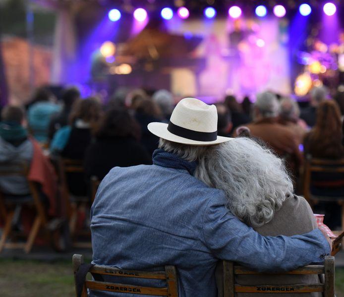 Een vorige editie van Jazz in 't Park.