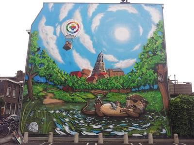 Hier vind je de tien mooiste muurschilderingen van Utrecht 🎨