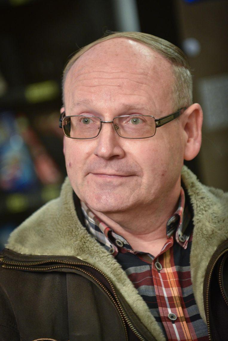 De voormalige schooldirecteur Eddy Desmet.
