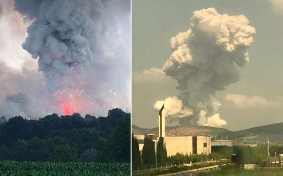 Door de ontploffing kwamen mensen tot op 50 kilometer afstand uit hun huizen gelopen.