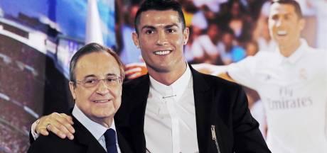"""""""Cristiano Ronaldo est un idiot"""": de nouveaux propos polémiques du président du Real Madrid dévoilés"""