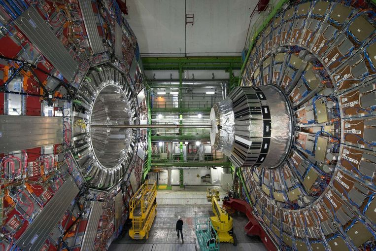 De CMS-detector van CERN. Beeld afp