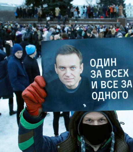 Navalny stopt na ruim drie weken met hongerstaking