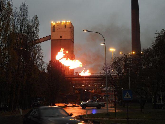 Maandag vond een ontploffing met dodelijke afloop plaats bij ArcelorMittal.