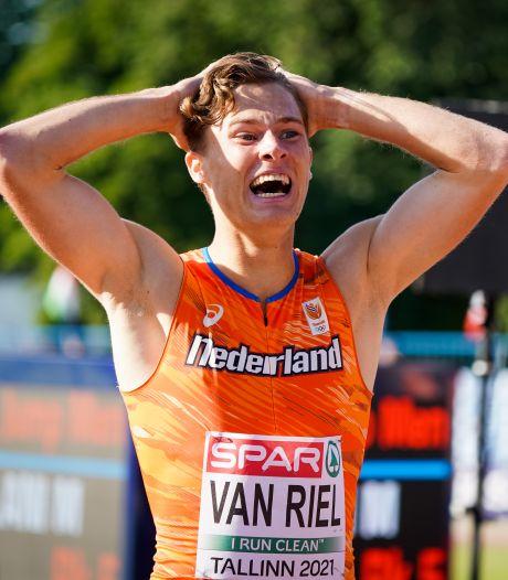 Tilburgse atleet Rick van Riel treedt in voetsporen van broer Robin: 'Dat ik met deze eindsprint zilver pak, is een unieke belevenis'