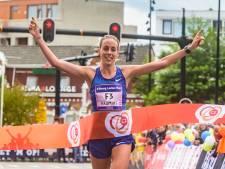 Susan Krumins loopt Montferland Run