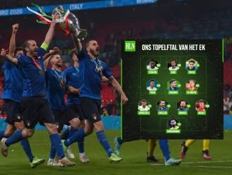 Eén Belg, maar vooral heel wat Italianen: dit is ons topelftal van het EK voetbal