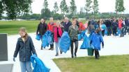 Honderd vrijwilligers rapen afval langs Scheldebocht