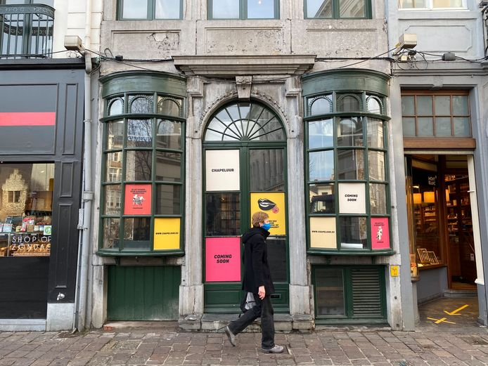 Chapeluur, op de plek waar vroeger Würst zat, opent begin februari.