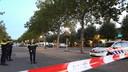 De politie heeft de omgeving afgezet na de plofkraak aan de Seinedreef in de Utrechtse wijk Overvecht.
