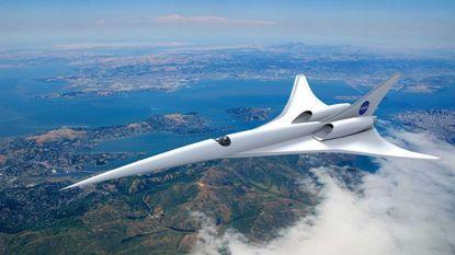 NASA ontwikkelt milieuvriendelijk supersonisch vliegtuig