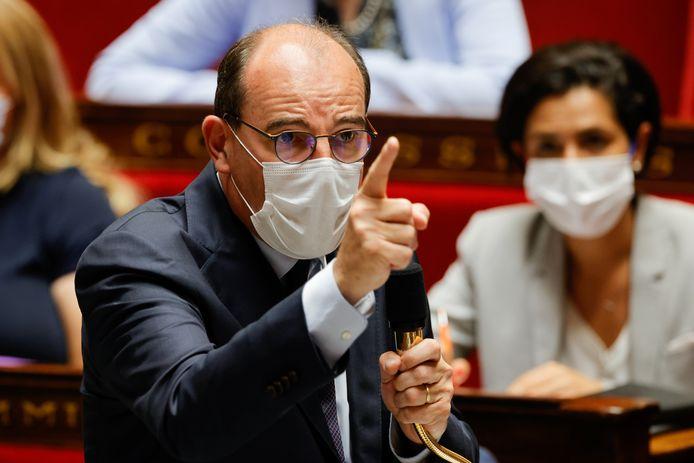 De Franse premier Jean Castex.