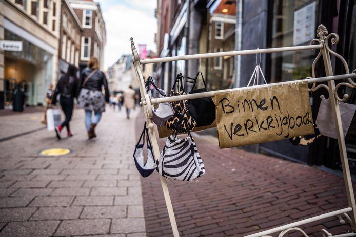 Mondkapjes te koop in Arnhem. Foto ter illustratie.