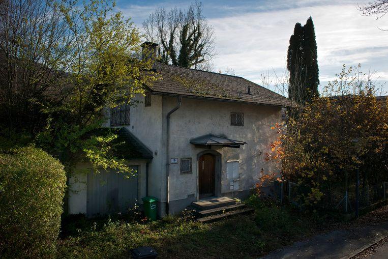 Het huis van Cornelius Gurlitt in Oostenrijk. Beeld getty