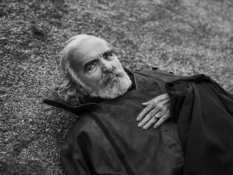 Michel Van Dousselaere maakte naam in het Vlaamse toneel, met name in de Blauwe Maandag Compagnie. Beeld Stephan Vanfleteren
