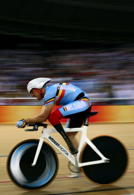 Jan Boyen was de enige landgenoot die in 2008 een olympische medaille wist te veroveren. Beeld UNKNOWN