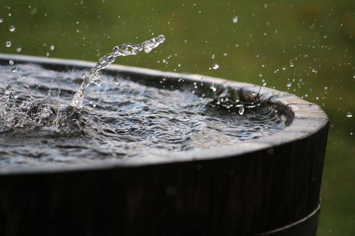 Regen laten we niet meer weglopen in het riool. We vangen het liever op en gebruiken het voor besproeiing.