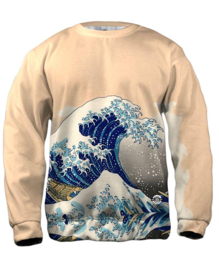 Hokusai trui Beeld RV
