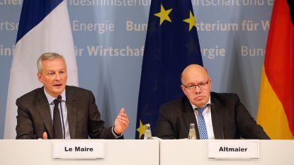 """Duitsland en Frankrijk willen """"Europese kampioenen"""" in de industrie creëren"""