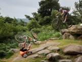 De zware valpartij van Mathieu van der Poel in het olympisch mountainbike
