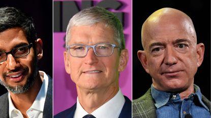 LIVE. Moeten Google en co opgebroken worden? CEO's van techreuzen verdedigen zich in Amerikaanse Congres