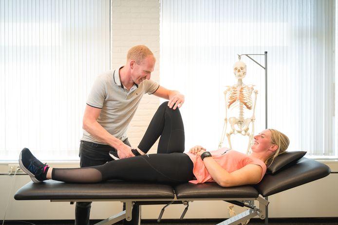 Pieter Jansen (foto) met een patiënt