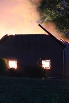 Asbestdeeltjes van afgebrande schuur Walsoorden gevonden