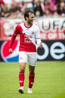 Joris van Overeem bracht FC Utrecht afgelopen zondag nog wel op voorsprong tegen PEC Zwolle.