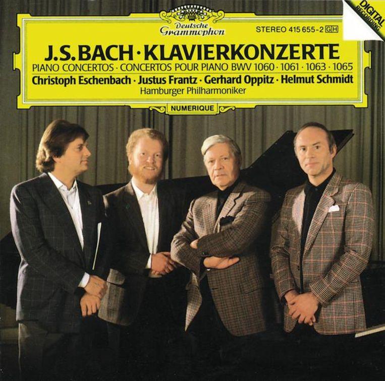 Muziek: Johann Sebastian Bach. 'Dit is van superieure klasse. Ik heb het wel vijfduizend keer gedraaid.' Beeld
