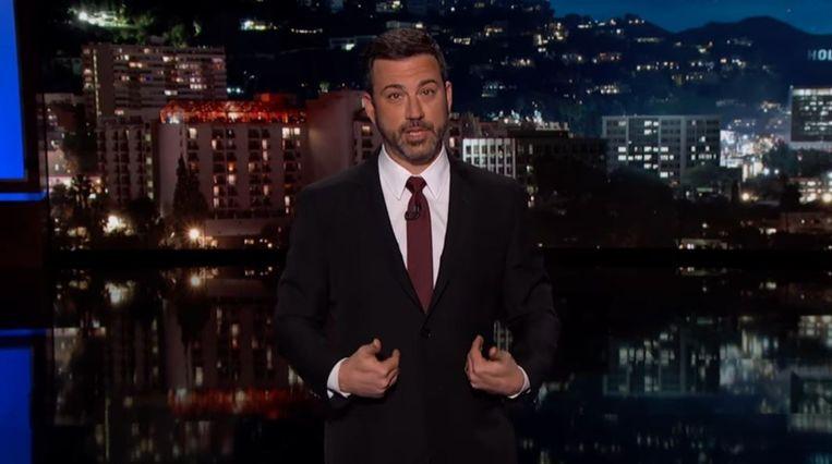 . Beeld Screenshot Jimmy Kimmel Live