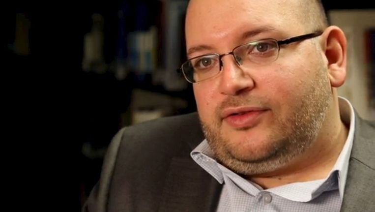 The Washington Post-reporter Jason Rezaian (39) is a native Californian with dual citizenship in Iran and the United States. Beeld REUTERS