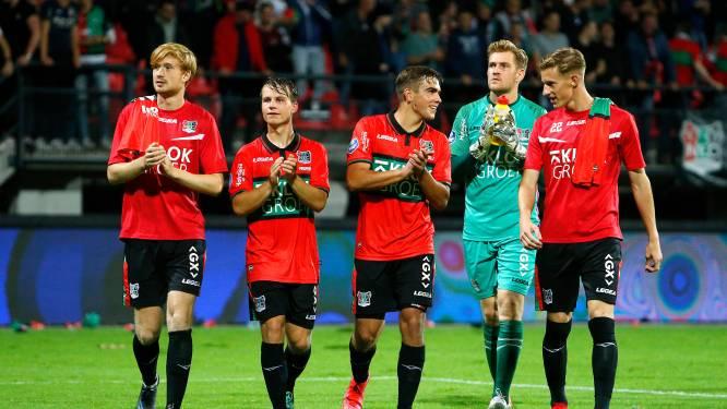 Jeugdexponenten Van Rooij en Proper klaar voor eerste derby met NEC: 'NEC is een veel warmere club dan Vitesse'