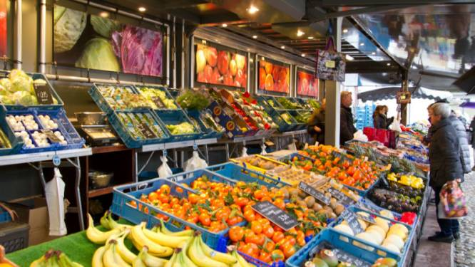 Zaterdagmarkt keert vanaf september terug naar vertrouwde stek