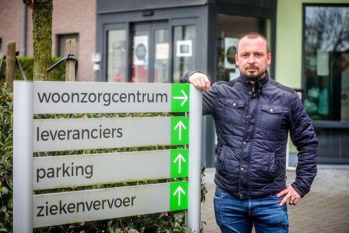 Directeur Jurgen Duyck van wzc De Groene Verte.