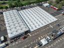 Het  XL-testpaviljoen in Zwolle is al in de maak, 25.000 mensen per dag kunnen hier straks getest worden.