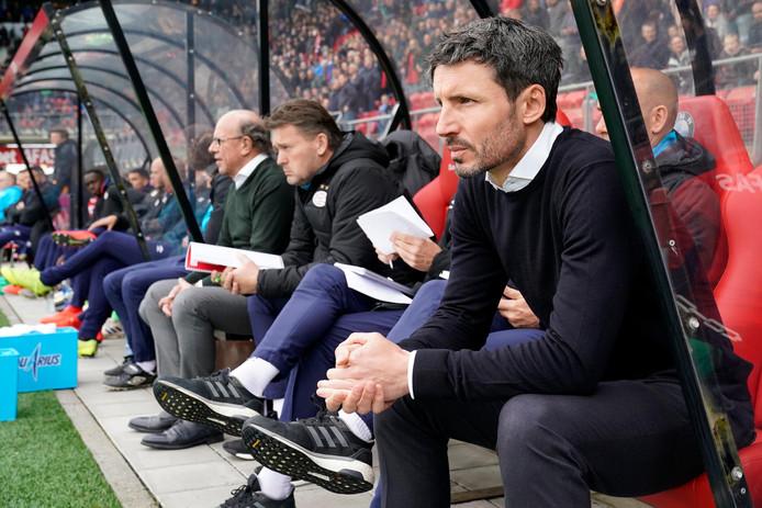 Mark van Bommel tijdens AZ-PSV.