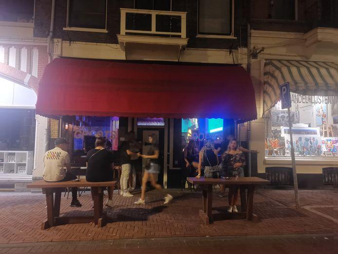 Café Groots tijdens een andere zomeravond in 2019
