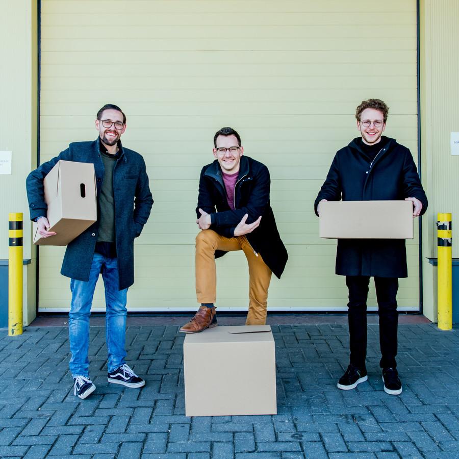 Christopher Van Roy, Rob Reculé en Jan Vandevivere hebben vier maanden geleden Supervers.be opgericht. Nu al is het een groot succes.