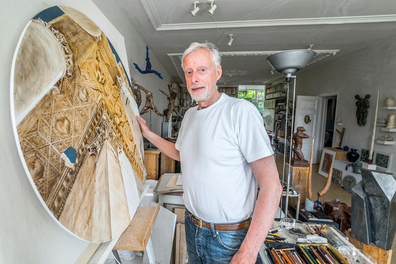 Kunstenaar Teun van Staveren