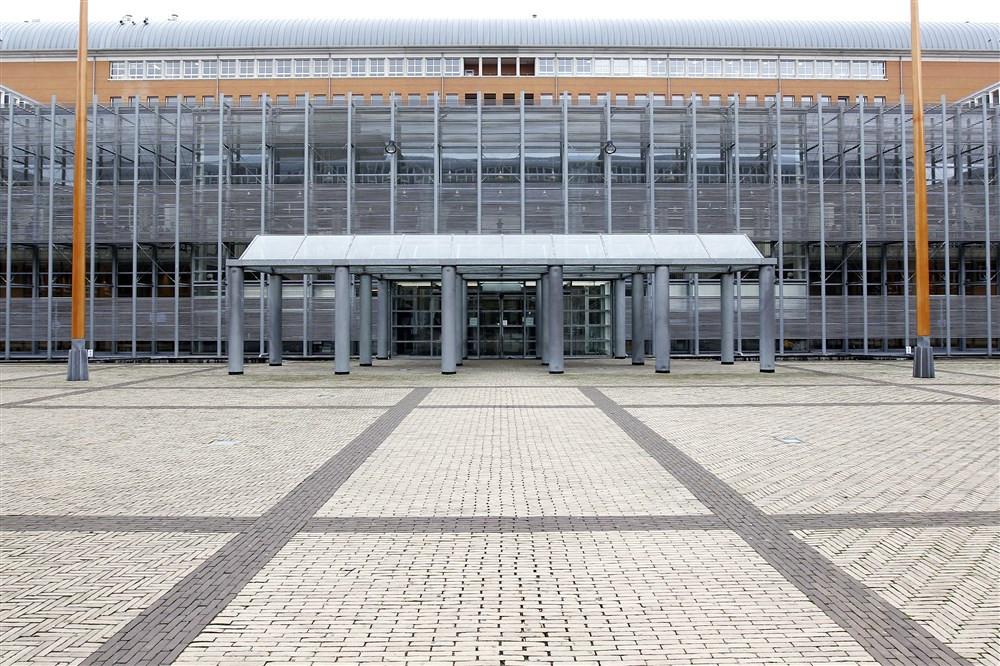 Het Paleis van Justitie in Den Bosch.