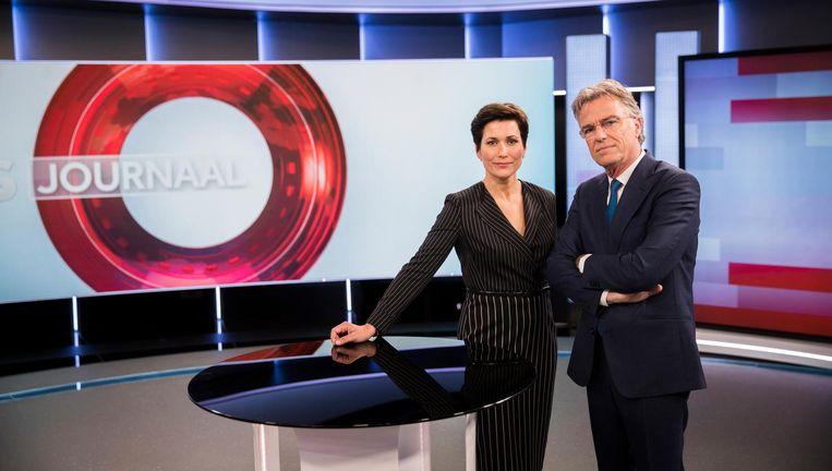 Nieuwslezers Annechien Steenhuizen en Rob Trip. Beeld anp