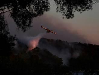 Zware bosbranden teisteren Franse Côte d'Azur