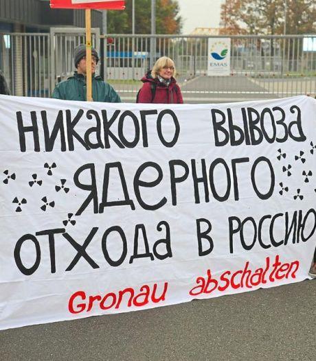 Aanklacht milieubeweging tegen Duitse Urenco: 'Illegaal transport van nucleair afval'