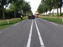 Op de N18 bij Lichtenvoorde heeft maandagochtend een ongeluk plaatsgevonden