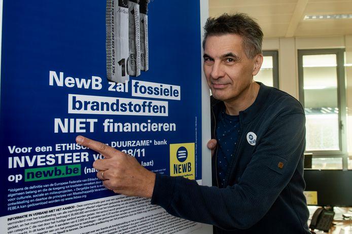 Bestuurder en woordvoerder Koen De Vidts blijft in NewB geloven.